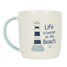 Life is Better at The Beach Design Ceramic Mug Boxed Gift