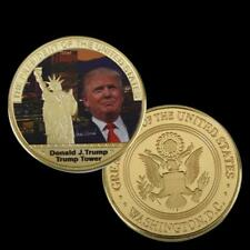 ✯ DONALD TRUMP ✯ US GOLD EAGLE ✯ GREAT NOVELTY GIFT ✯ COMES IN SECURE CAPSULE ✯
