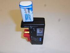 1 batteria 9 v ricaricabile NiMH  380 mAh + tester 1,2 /9v +pochette sky