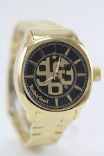 Timberland QT7117401 Men's Wrist Watch, Gold Tone Bracelet