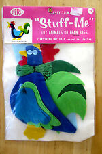 Hero Easy To Make Stuff Me Felt Rooster Toy Bean Bag Sew Kit Craft Nip