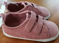 NEW Old Navy Girls 12-18 MONTH Sneaker Style Casual Crib Shoes MAUVE PINK #32119