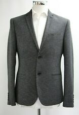 Men's River Island Charcoal Grey Blazer Style Jacket (40R).. Sample 5953