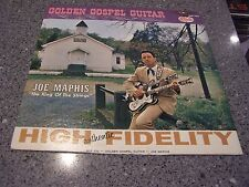 "Joe Maphis ""Golden Gospel Guitar"" STARDAY LP #SLP-322 AUTOGRAPHED!!!"