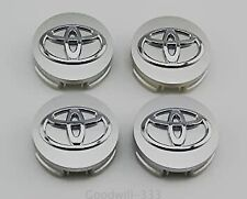 4 x 62 mm Toyota Logo Wheel Center Caps for Toyota Corolla Camry & More - FSHIP