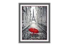 Cross Stitch Kit Rain in Paris Art. 868
