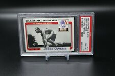 1983 Topps M&M's Olympic Heroes #31 -- Jesse Owens -- PSA 8