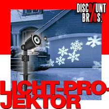 NEU █ Weihnachtsbeleuchtung SMD LED Licht - Projektor DEKOLICHT Schneeflocken
