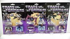 TRANSFORMERS G1 Reissue cassettes Laserbeak/Frenzy/Ravage/Ratbat/Frenzy