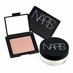 NARS Makeup Set Blush Orgasm 4013+Loose Setting Powder Translucid Crystal#b274