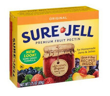 NEW Stock Sure Jell 100% Natural Premium Fruit Pectin