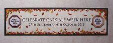 Old Speckled Hen Cask Ale Week Beer Rubber Backed Bar Runner Pub Bar Man Cave