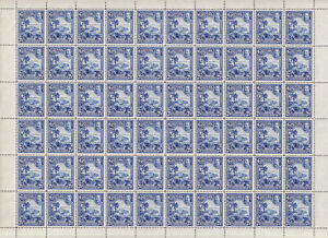 GRENADA 1934 Complete sheets of 60 for ½d - 32101