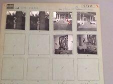 YVETTE HORNER : PLANCHE CONTACT ORIGINALE DE 1962 : 6 PHOTOS  6x6cm