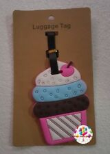 Party : Cupcake Travel Luggage Bag Tag Party Giveaways