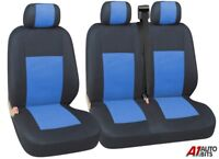 2+1 BLUE SOFT & COMFORT FABRIC SEAT COVERS FOR NISSAN NV300