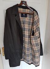 Da Uomo Londra da Burberry in Pelle Giacca/Cappotto. Taglia UK46/XL. Immacolata RRP £ 1,375.
