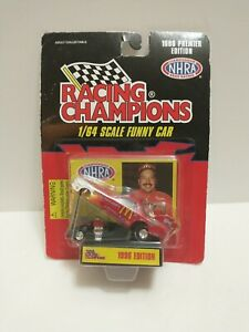 NHRA 1996 Racing Champions Cruz Pedregon Premier Edition 1/64 Scale Funny Car