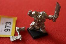 Games Workshop Warhammer Black Orcs Borgut Facebeater Big Boss Mint New Metal GW