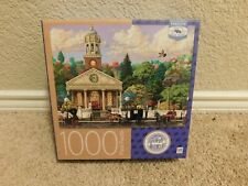 New MB Spin Master 1000 piece Church jigsaw puzzle