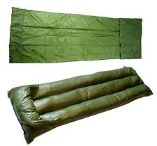 NEW WATERPROOF TENT MAT SURVIVAL MATTRESS ARMY SURPLUS GREEN camping bushcraft