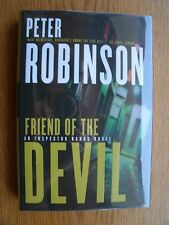 Peter Robinson Friend of the Devil 1st Canadian HC SIGNED