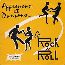 """45 T EP """"APPRENONS ET DANSONS LE ROCK AND ROLL"""""""