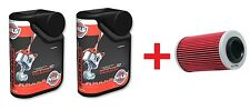 2 LITRI OLIO NILS 4 RACE 10W50 ATV + FILTRO OLIO CAN-AM COMMANDER SSV 4X4  1000
