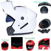Motorcycle Helmet Double Lens Open/Full Face Helmet Flip Up Motobike Helmet