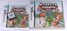 """Nintendo DS juego """"Harvest Moon historias de dos ciudades"""" completo 3ds"""