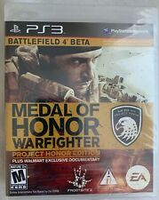 Medal of Honor: Warfighter Project Honor Edition Sony PlayStation 3 New Sealed