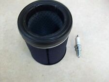 OEM Air Filter + NGK DPR8EA-9 Spark Plug For 2003-2012 Kawasaki Prairie 360 4X4