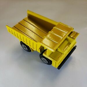Matchbox Lesney Superfast #58 Faun Dump Truck Yellow 1976 Made In England Base