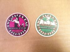 POGS/MILKCAPS OHMF TWO JACKS BAR LIMITED RUN OF 2500  COMPLETE SET OF(2) AWESOME