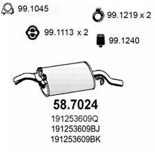 VW Golf II 19E, 1G1 Endschalldämpfer 58.7024
