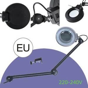 LED Kaltlicht Lupenleuchte Lupenlampe Tischlampe Arbeitsleuchte 5x Vergrößerung