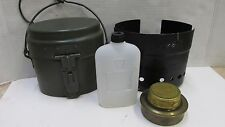 Vintage Swedish Army Mess Kit Trangia Stove Military Sweden