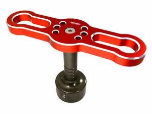 Integy Hardened Steel 24mm Wheel Nut Hex Socket Wrench w/ Anodized Alum Handle