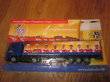 Kulmbacher Advertising Truck Lorry Model Special Edition Champions League On Tour! Top