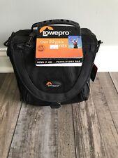 Lowepro Nova 2 AW Camera Shoulder Bag (Black) NWT Photo Video Bag