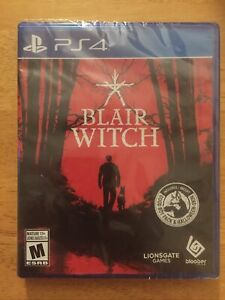 PS4 Blair Witch (Sony PlayStation 4) Rare HORROR Game Brand New Sealed