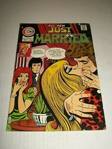 Charlton JUST MARRIED #105 (1975) Art Cappello Cover