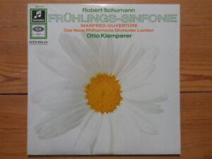 Schumann-Frühlings Sinfonie-Manfred Ouvertüre-Klemperer-SMC 91493 Columbia ED1