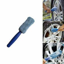 Auto KFZ Waschbürste Felgenbürste  Mikrofaser Reinigungsbürste Pflegen Blau