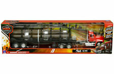 New Ray 1/32 Mack CH Semi Truck with LOGS Trailer Diecast Model Red SS-13173