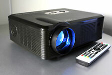 LCD 720P Multimedia Video Projector USB/HDMI 2500 Lumens 1280 x 800 Open Box