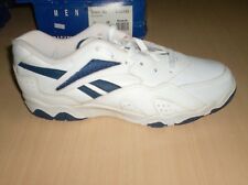 vintage shoes reebok challenger collectors only 10.5 usa new wht/nvy 1990 80