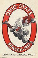 OHIO STATE - VINTAGE LOGO POSTER - 22x34 NCAA 16963