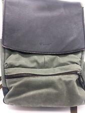 TIMBUK 2 Distilled Walker Laptop Backpack Canvas Leather