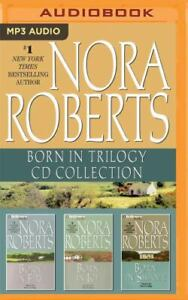Nora Roberts BORN IN TRILOGY Unabridged MP3-CD 32 Hour *NEW* FAST Ship